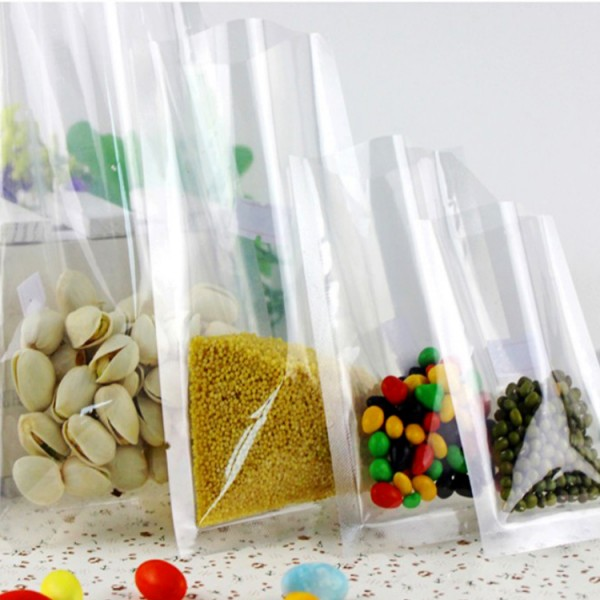 Custom Printed Heat Seal Plastic Bag Food Vacuum Storage