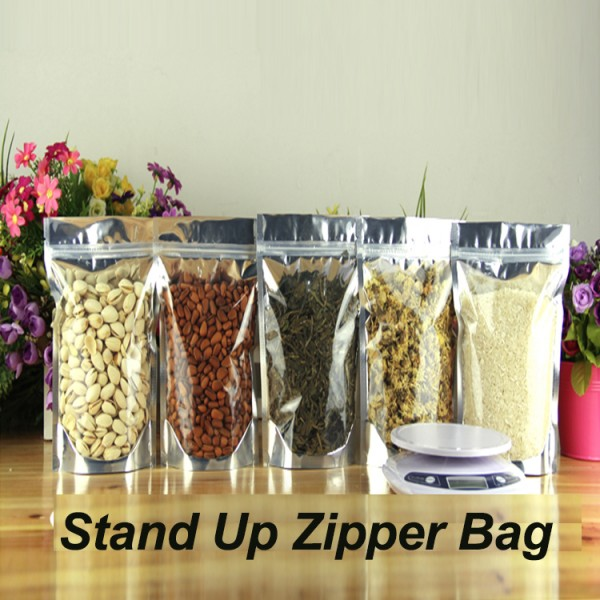 Business & Industrial Zip Lock Aluminum Foil Bag Stand Up with ...